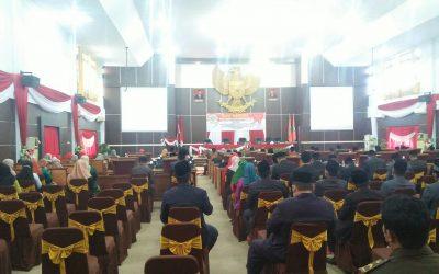Rapat Paripurna DPRD Tebo Bersama Pemkab Tebo Mendegar Pidato Kenegaraan Presiden RI