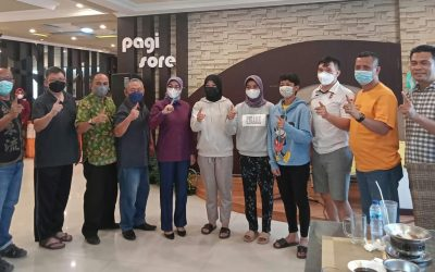 Empat Karateka Jambi Diberangkatkan ke PON Papua