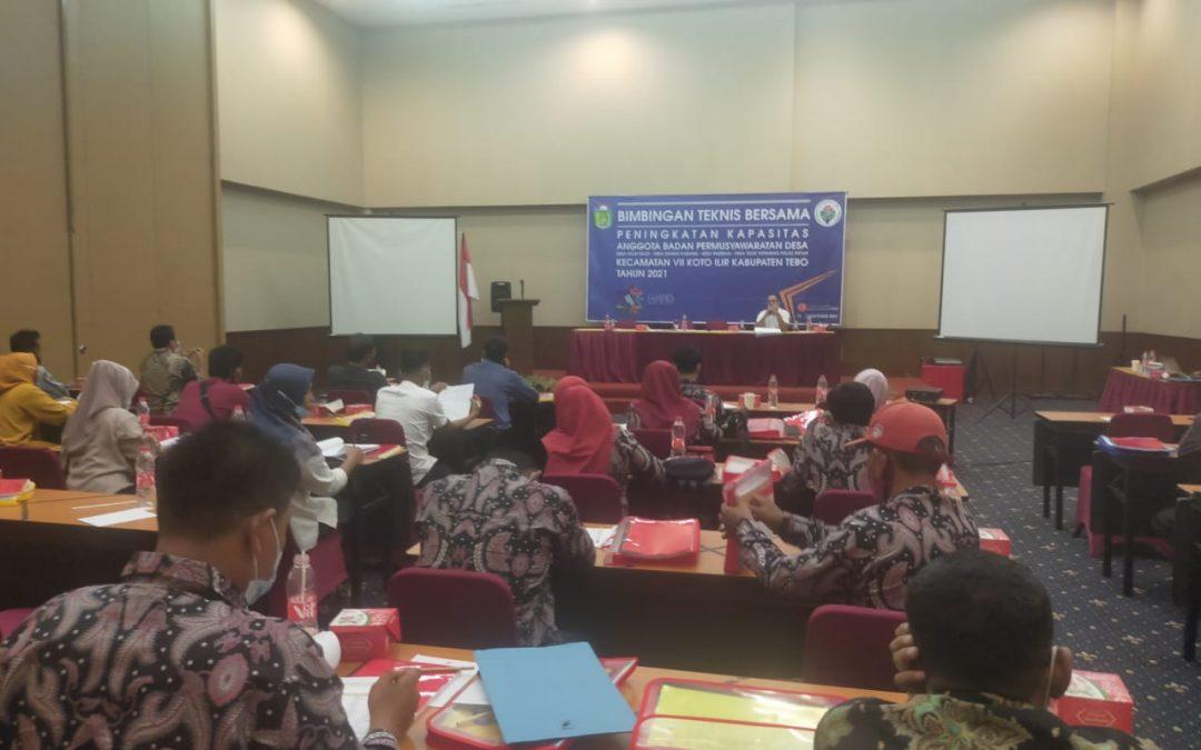 Bimtek BPD Dalam Kecamatan VII Koto Ilir, Kadis PMD : Tak ada rekomendasi bupati