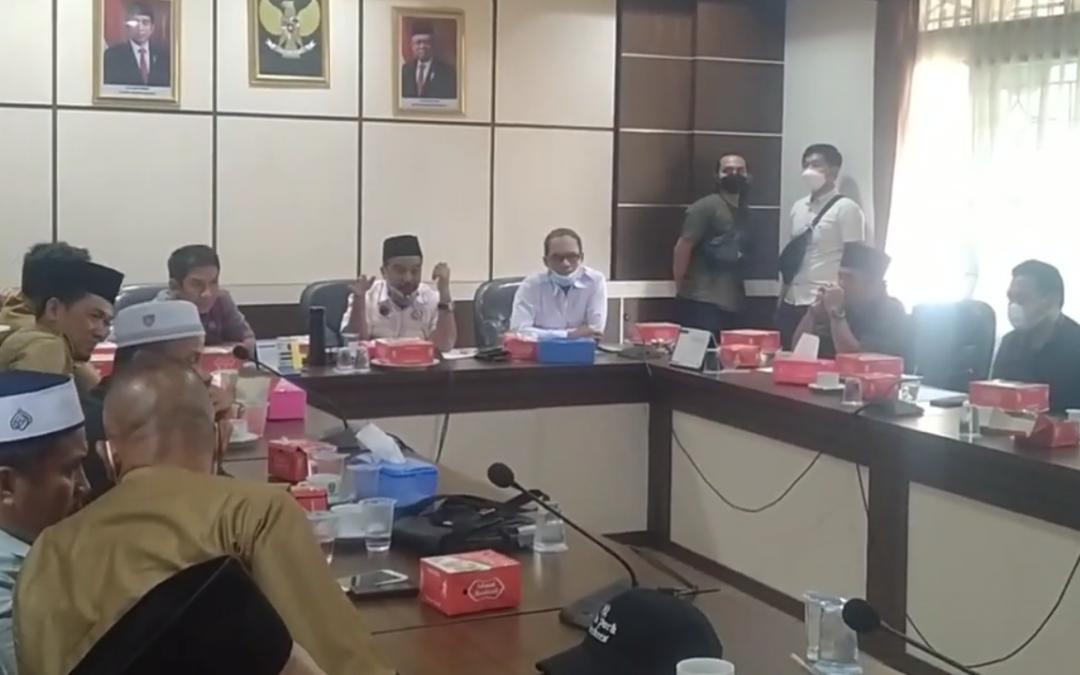 Dalam RDP Komisi I DPRD Tebo, si Boy Sebut APDESI pusat Batalkan ke Lombok